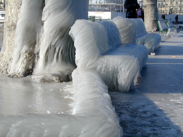 ice as a blanket