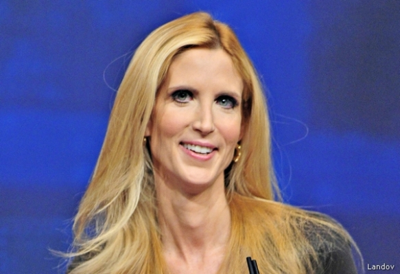 Image #: 16860567 Ann Coulter, Best-Selling Author, Legal Correspondent for Human Events, makes remarks at the 2012 CPAC Conference at the Marriott Wardman Park Hotel in Washington, D.C. on Friday, February 10, 2012..Credit: Ron Sachs / CNP DPA /LANDOV