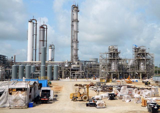 OCI Beaumont plant