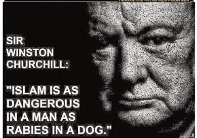 Winston Churchill.Islam