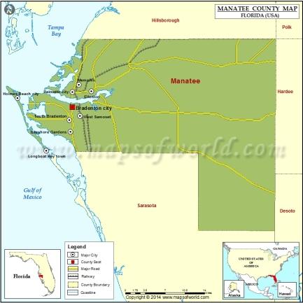 manatee-county-map