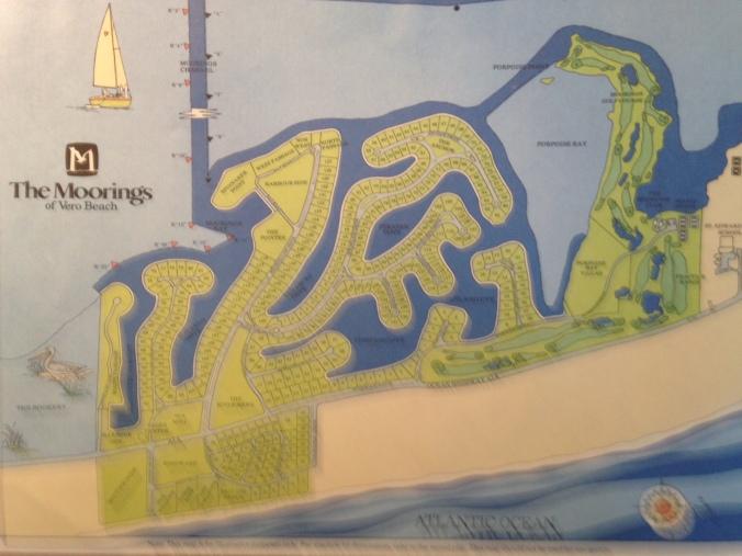 Moorings map