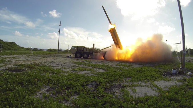 THAAD-2nd-Launch