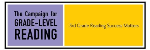 Grade Level Reading logo