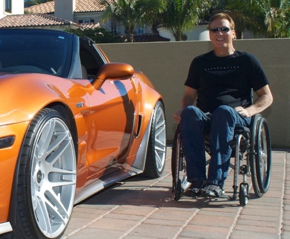 As A Quadriplegic Now You Can Cruise Around Town In A New