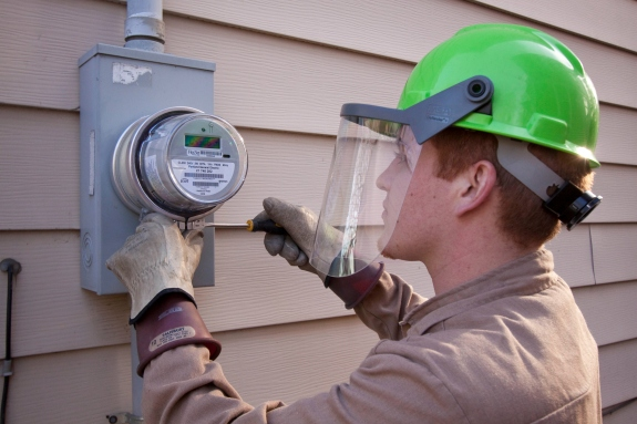 Smart meter install